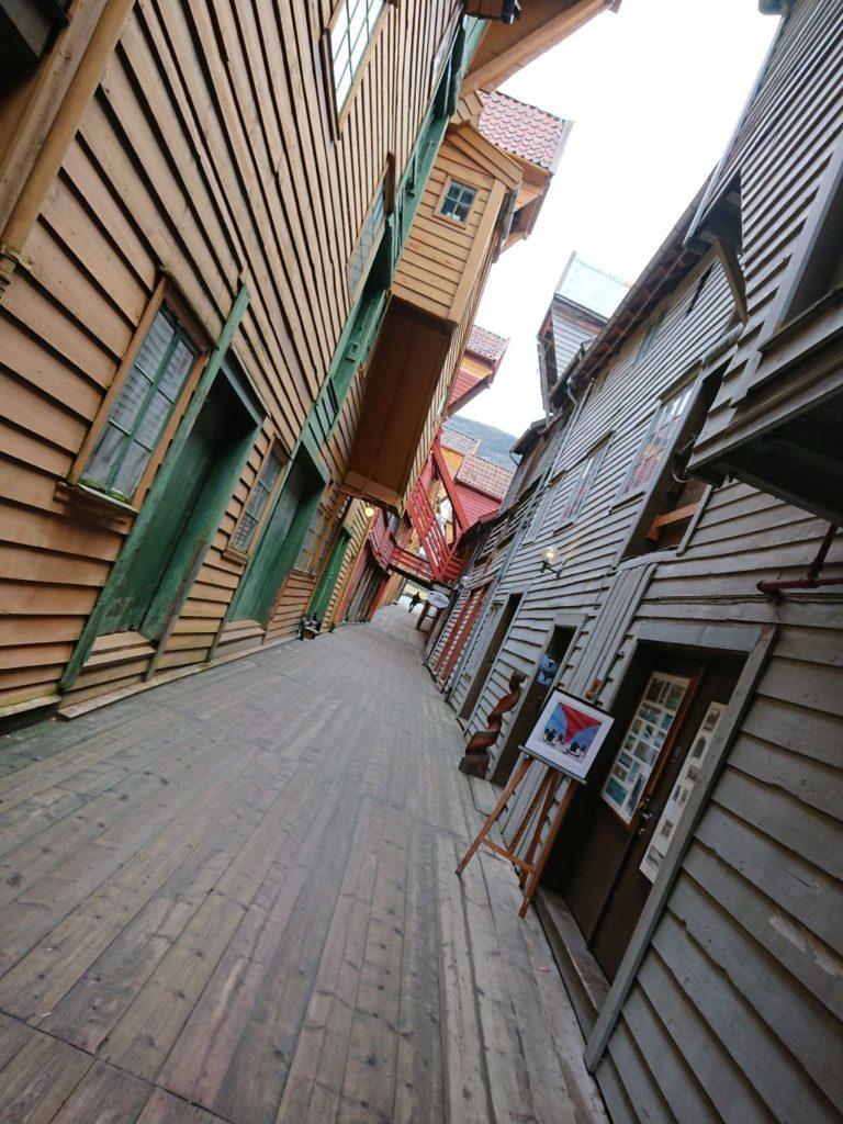 Inside Bryggen