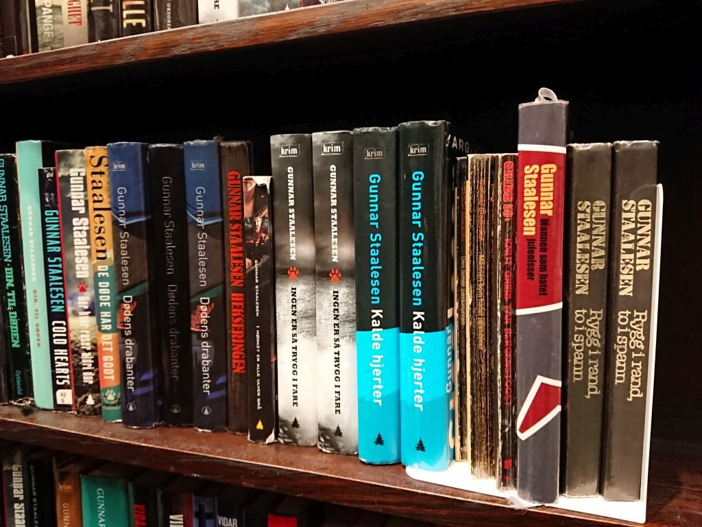 Books by the local author Gunnar Staalesen