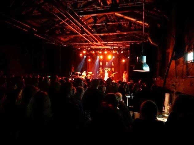 Neslon Can on stage. Pumpehuset, Copenhagen.