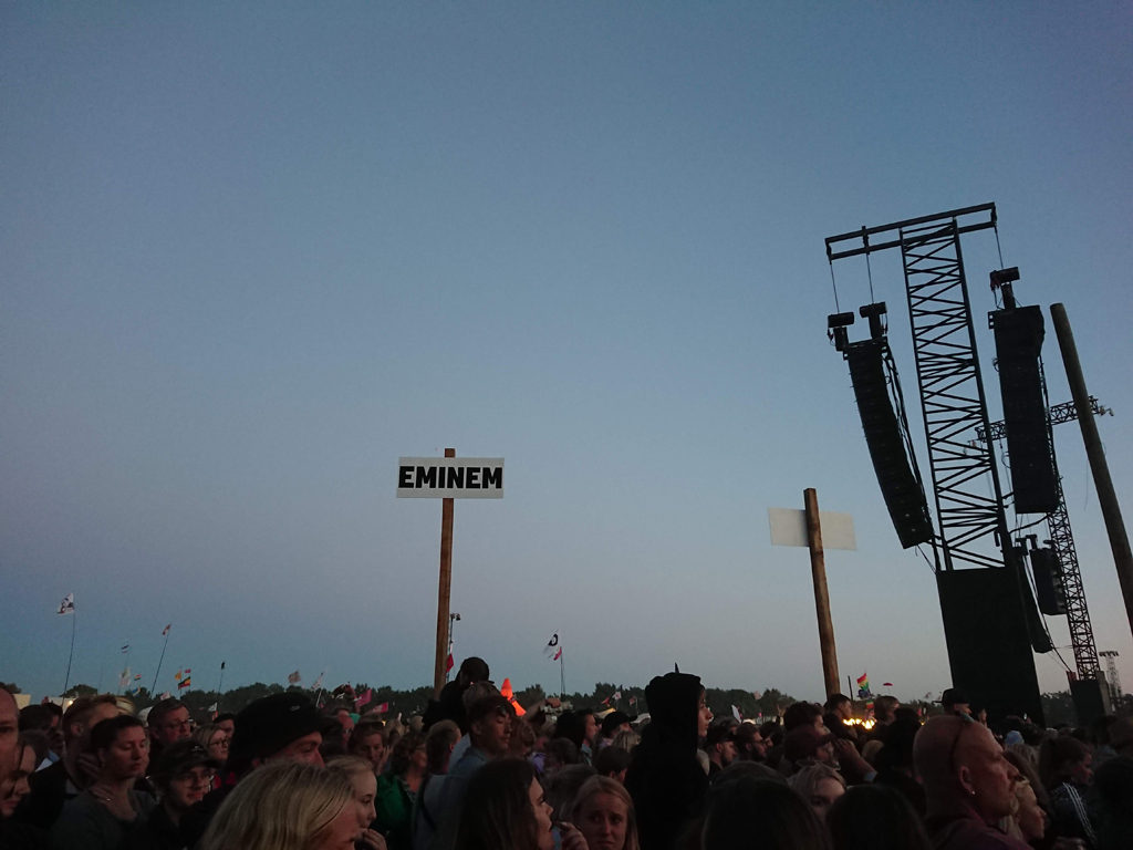 Roskilde er klar til Eminem