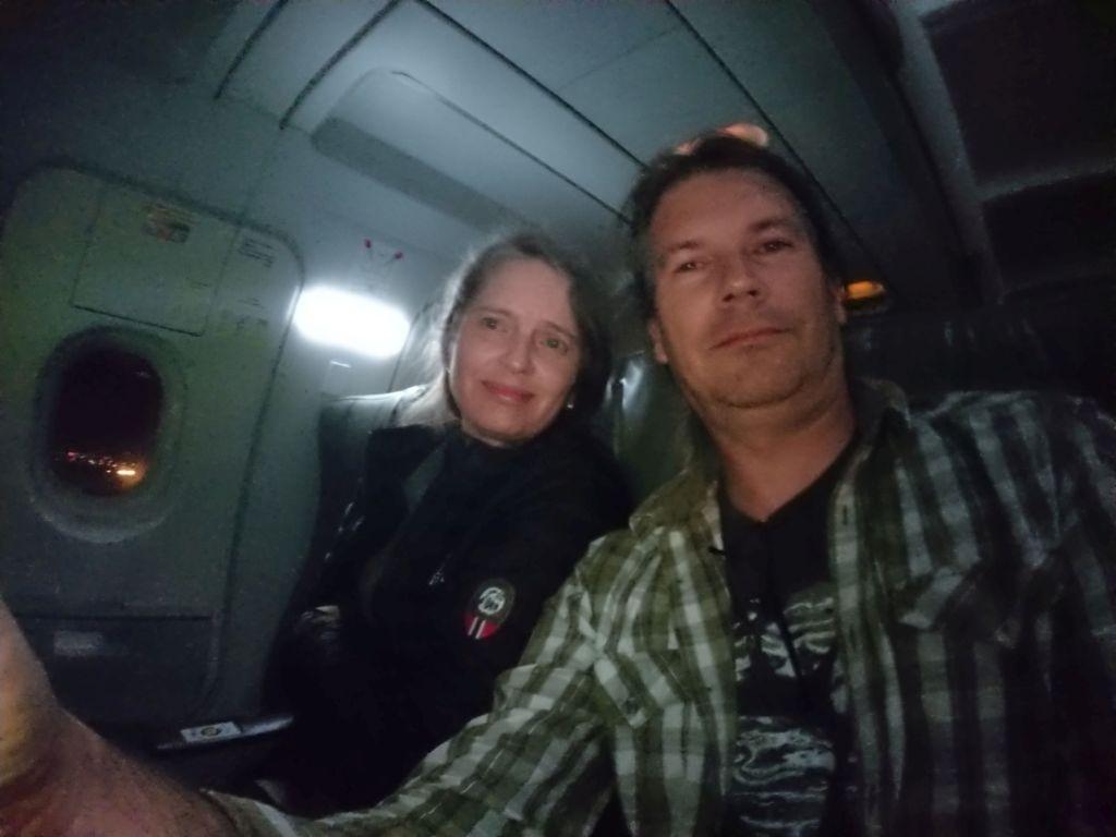 Indflyvning til Quito