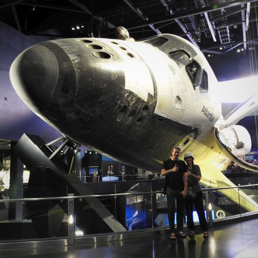 Space Shuttle Atlantis. Kennedy Space Center Visitor Complex, Florida.