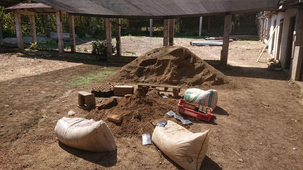 Jordbunken er blevet lidt mindre.