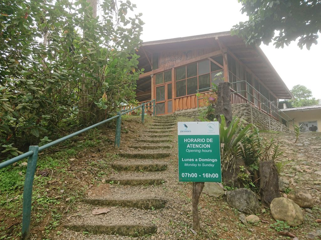 Umbrellabird Lodge. Buenaventura, Ecuador.
