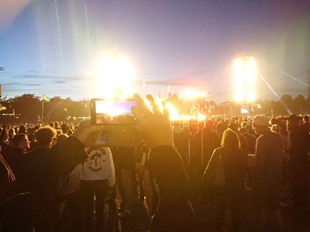 Roooskildeeee! Mø holdt fest torsdag aften. Orange, Roskilde Festival 2019.