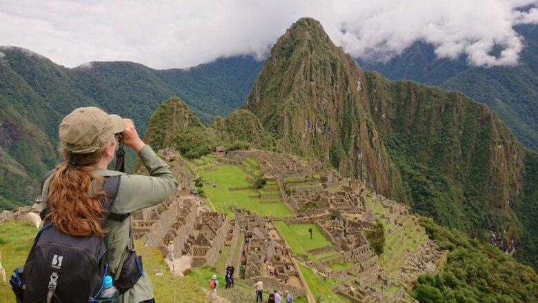 Fuglekigning på turistruten. Machu Picchu, Peru