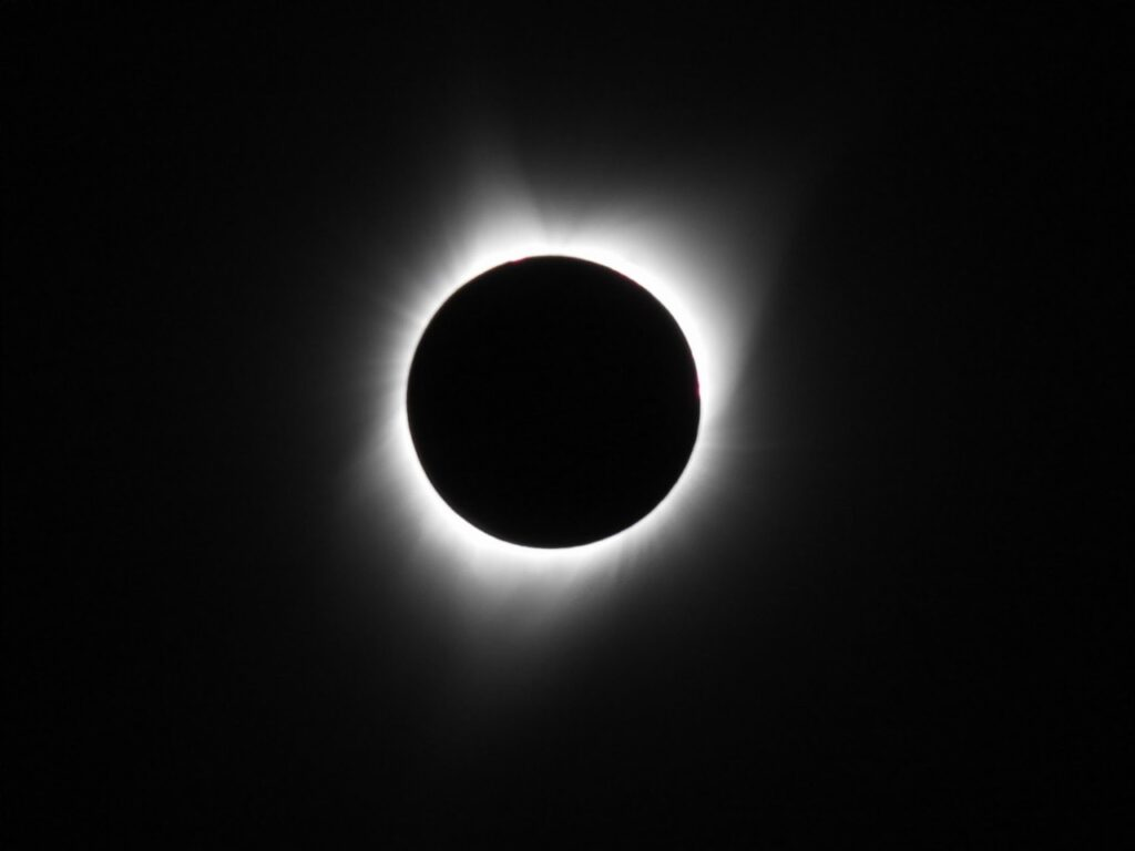 Totalitet. 21. august 2017, Madras, Oregon,USA.