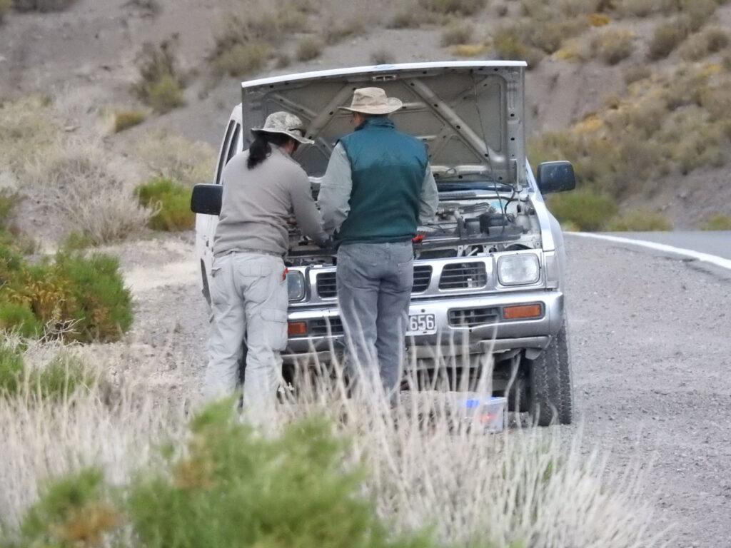Der opstod tekniske problemer undervejs! Rute Nacional 51, Salta, Argentina.